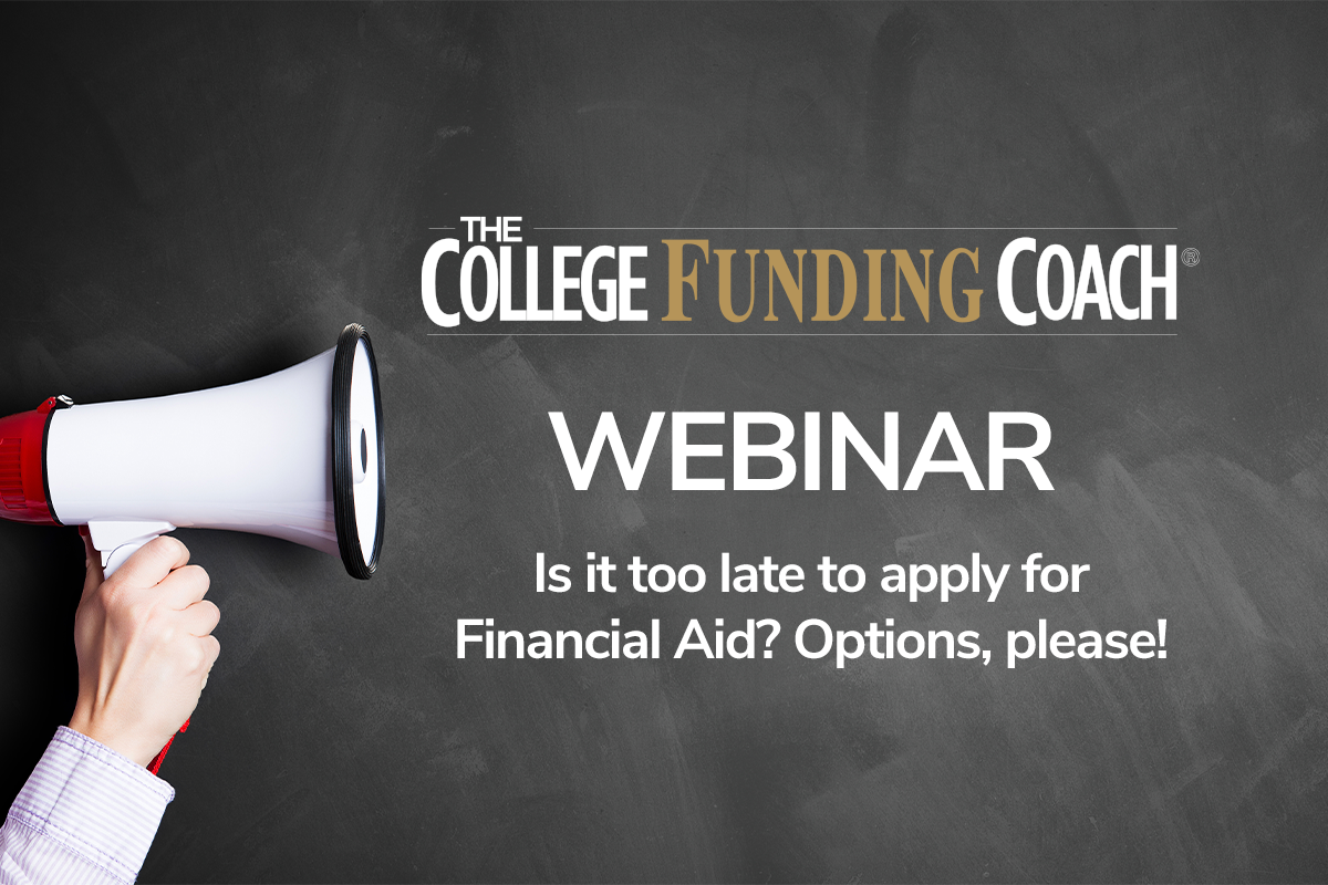 Is It Too Late To Apply For Financial Aid? Options, Please!