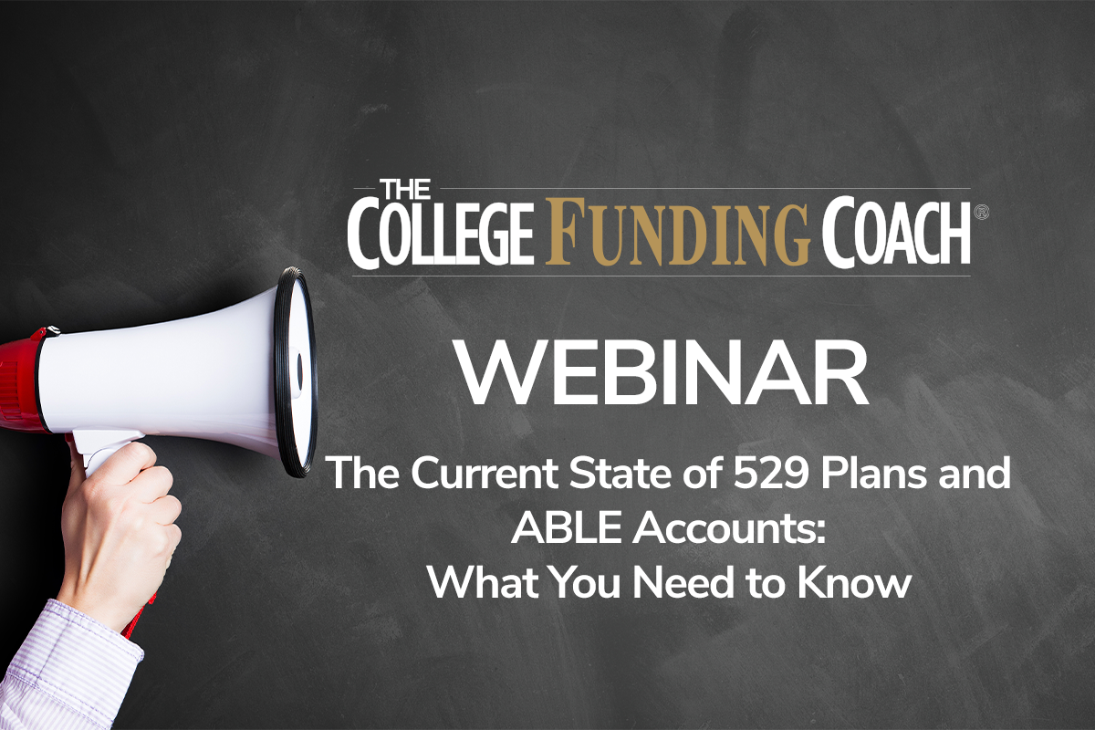The Current State Of 529 Plans And ABLE Accounts What You Need To Know
